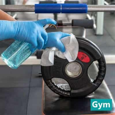 Nitrile Gloves Powder Free Blue 3.5g - 200pcs