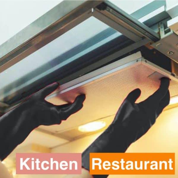 Dishwashing Gloves Heavy Duty Black