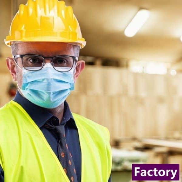 Disposable Masks Ear loop - Industrial