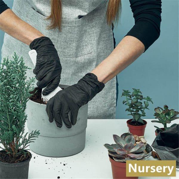 Nitrile Gloves Powder Free Black 5g
