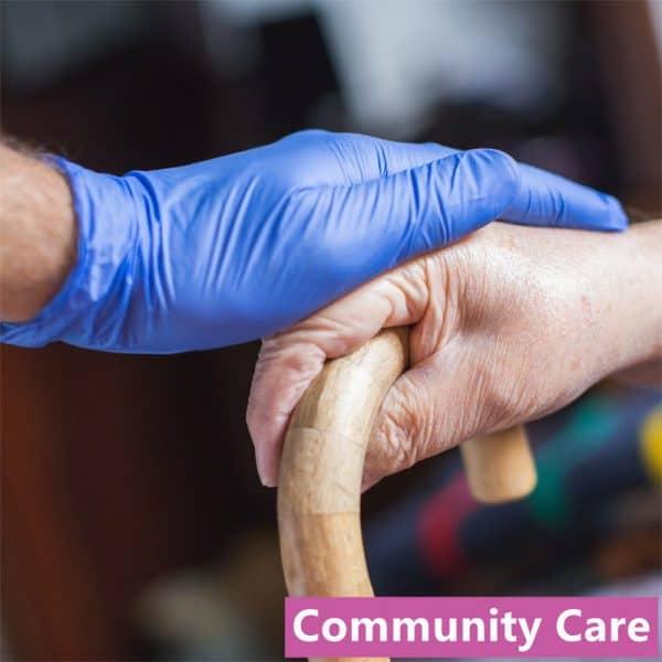 Medicom Nitrile Gloves Powder Free Violet 6.2g